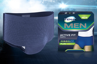 Probeer TENA Men Active Fit